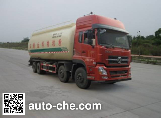 Dongfeng low-density bulk powder transport tank truck DFL5311GFLAX10