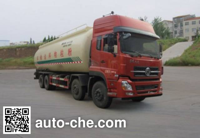 Dongfeng low-density bulk powder transport tank truck DFL5311GFLAX12