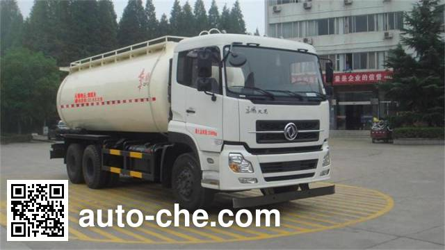 Dongfeng low-density bulk powder transport tank truck DFZ5250GFLA11