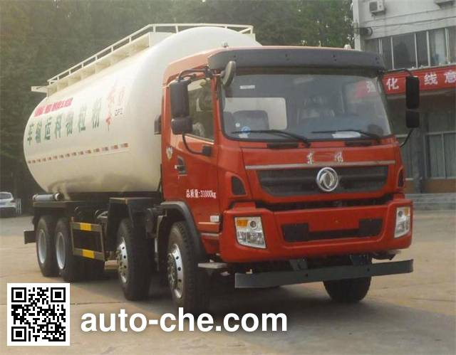 Dongfeng low-density bulk powder transport tank truck DFZ5310GFLSZ5D1