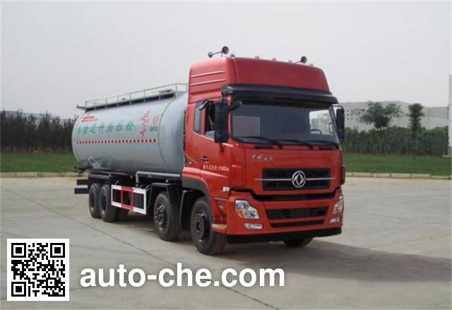 Dongfeng low-density bulk powder transport tank truck DFZ5311GFLA9