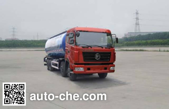 Dongfeng low-density bulk powder transport tank truck EQ5310GFLT
