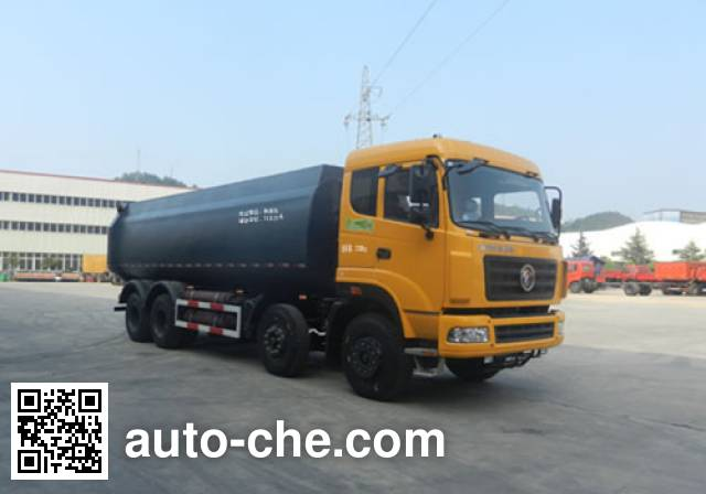 Dongfeng low-density bulk powder transport tank truck EQ5310GFLT1