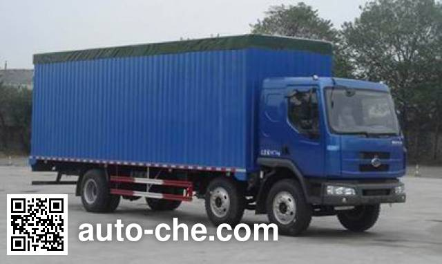 Chenglong soft top box van truck LZ5160XXYPRCM
