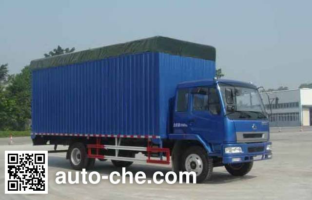 Chenglong soft top box van truck LZ5161XXYPLAP