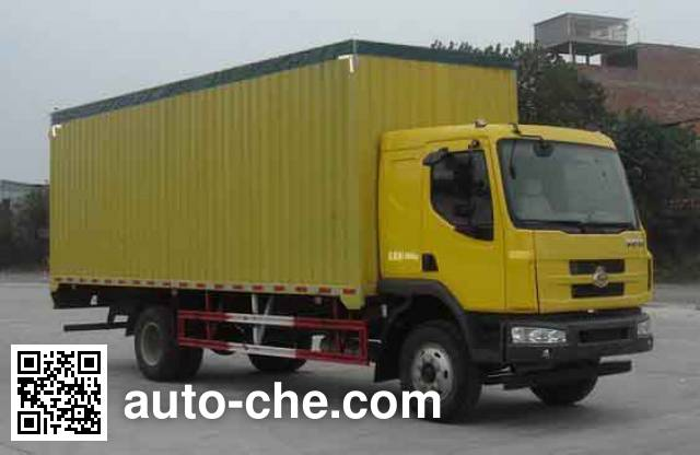 Chenglong soft top box van truck LZ5165CPYM3AA
