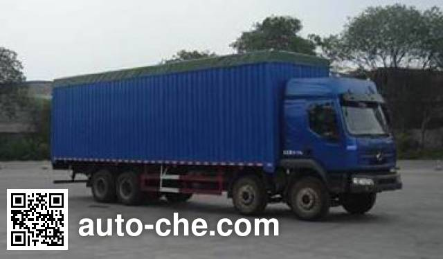 Chenglong soft top box van truck LZ5244CPYREL