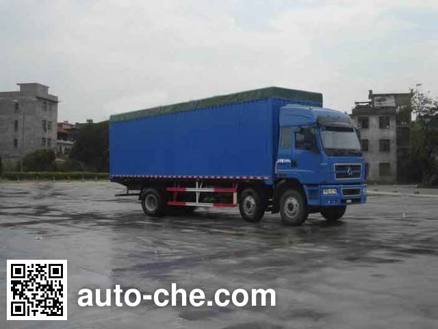 Chenglong soft top box van truck LZ5250XXYPPCS