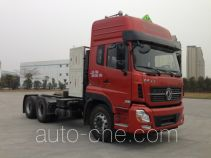 Dangerous goods transport tractor unit