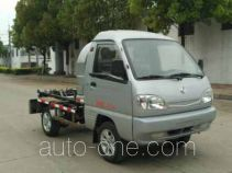 Dongfeng electric hooklift hoist garbage truck EQ5021ZXXACBEV