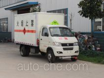 Junfeng flammable gas transport van truck EQ5031XRQ50Q6ACWXP