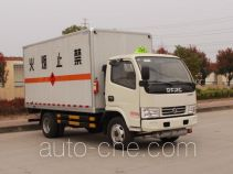 Dongfeng flammable gas transport van truck EQ5041XRQ3BDFACWXP