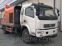 Dongfeng truck mounted concrete pump EQ5123THBT