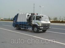 Dongfeng natural gas garbage compactor truck EQ5140ZYSF1