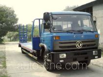 Dongfeng low flatbed truck EQ5160TDPL