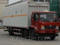 Dongfeng flammable liquid transport van truck EQ5250XRYGD5D