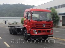Dongfeng truck mounted loader crane chassis EQ5258JSQFVJ