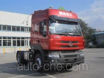 Chenglong container carrier vehicle LZ4182M5AA