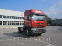 Chenglong container carrier vehicle LZ4181M5AB