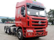 Chenglong dangerous goods transport tractor unit LZ4252H5DB
